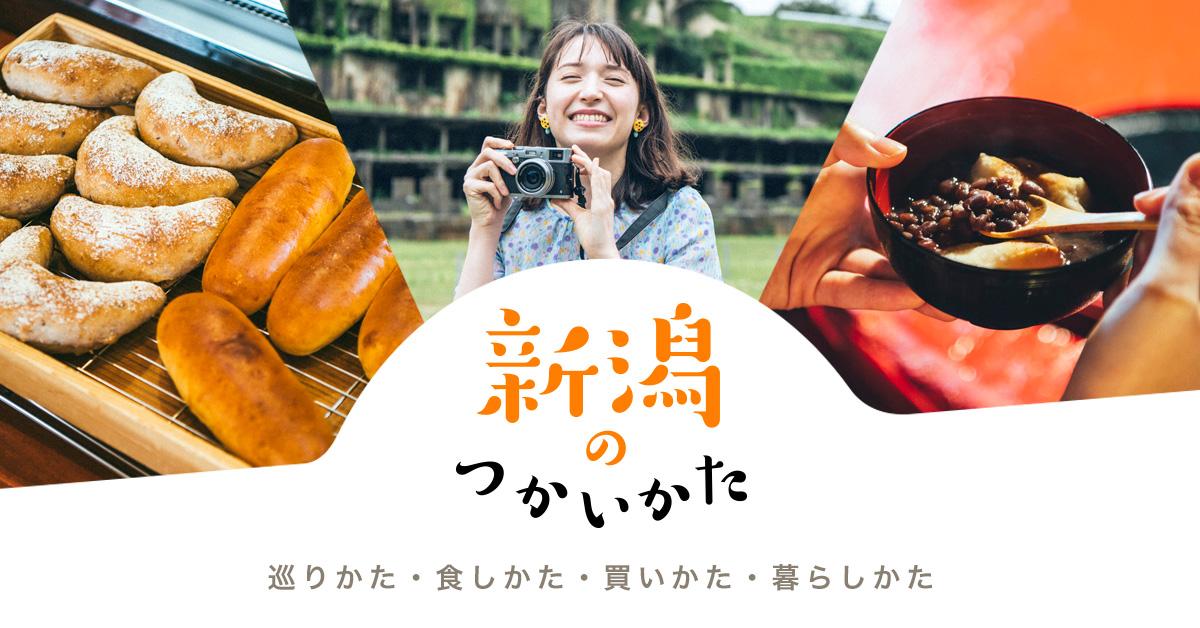 『新潟のつかいかた』サイトイメージ