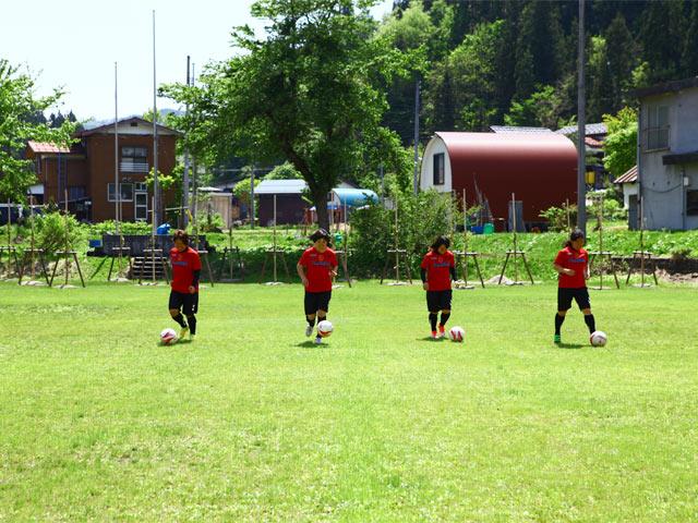 女子サッカーチーム〈FC越後妻有〉