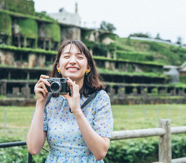 世界中を旅するモデル・斉藤アリスが佐渡巡りへ