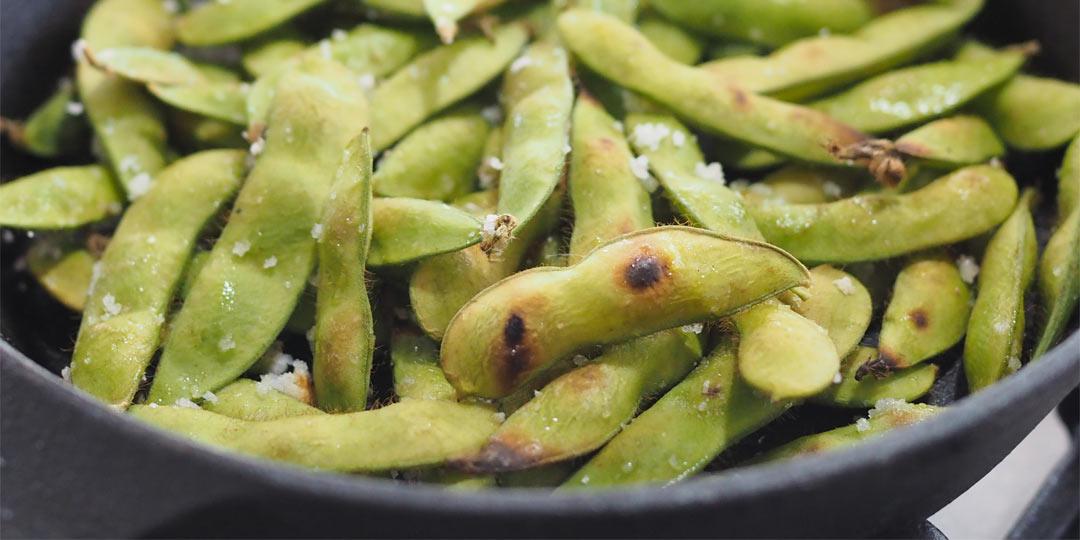 枝豆の3ステップ。茹でて・焼いて・揚げてみて!