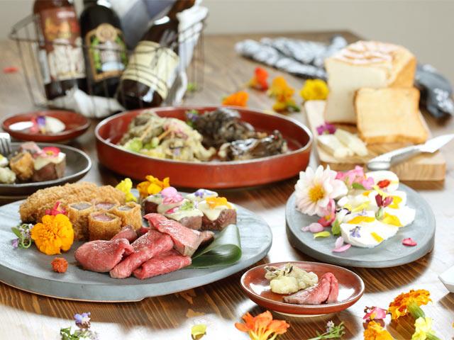 新潟食材を使って華やかな食卓を