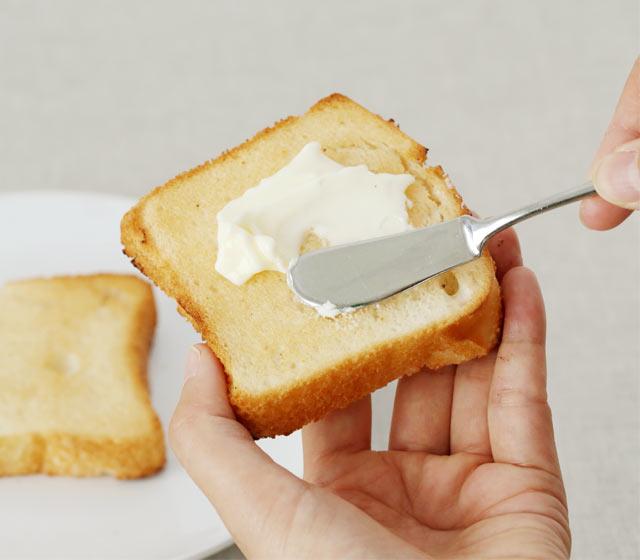トーストするとサクサク食感に。
