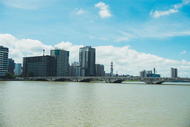 新潟市のシンボルともいえる「萬代橋」
