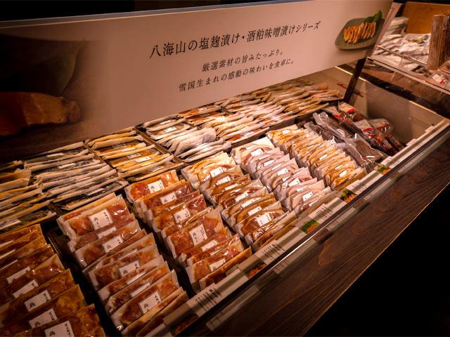 麹や酒粕を使ったオリジナル商品を販売している〈千年こうじや〉。