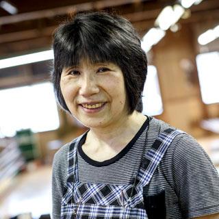 〈十日町絣〉渡邊美子さん