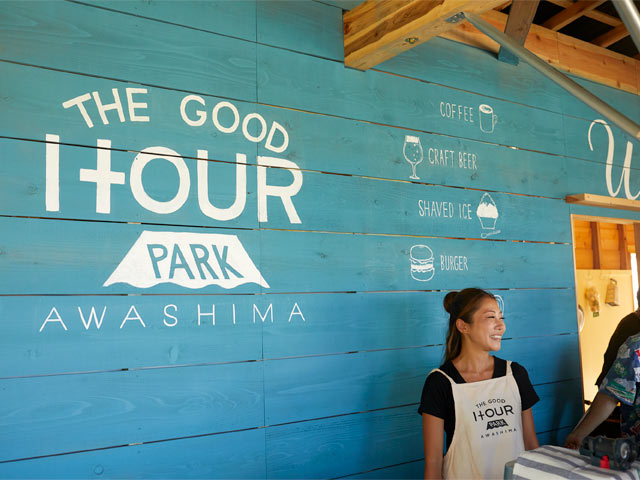 〈THE GOOD HOUR PARK〉カウンター