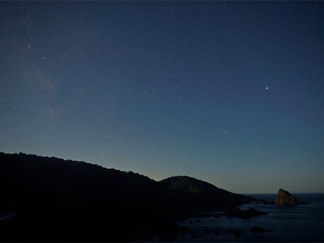 粟島の星空
