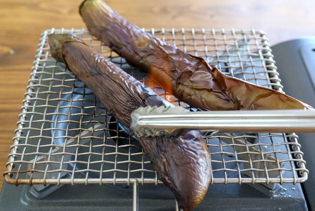 新潟産のなすの調理法・その1・焼く