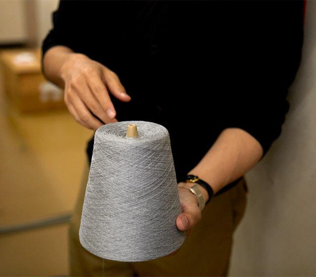 1キロ巻きの糸