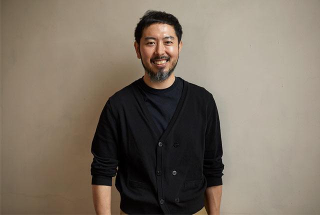 ディレクターでもあり、〈ウメダニット〉常務取締役の梅田大樹さん