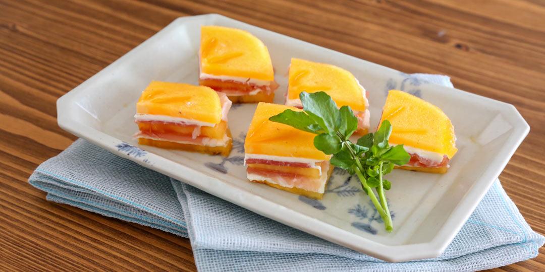 """前菜からデザートまで。フルコースで堪能する""""おけさ柿""""レシピ"""