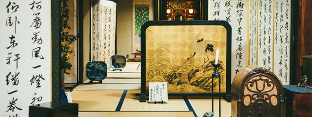 代々受け継がれる美術品に出会える屏風まつり