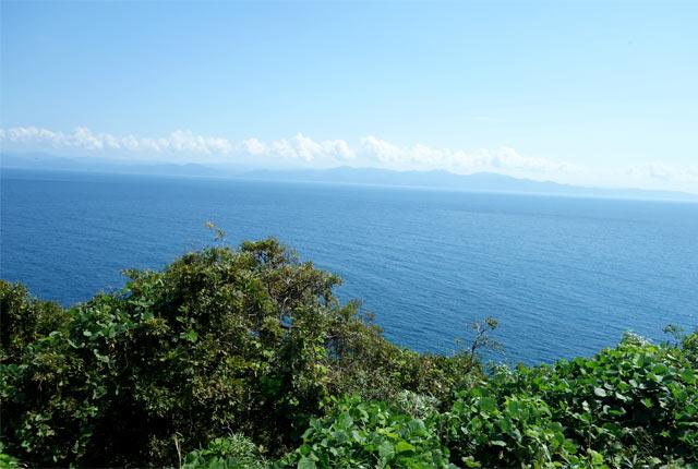 粟島からの海の景色