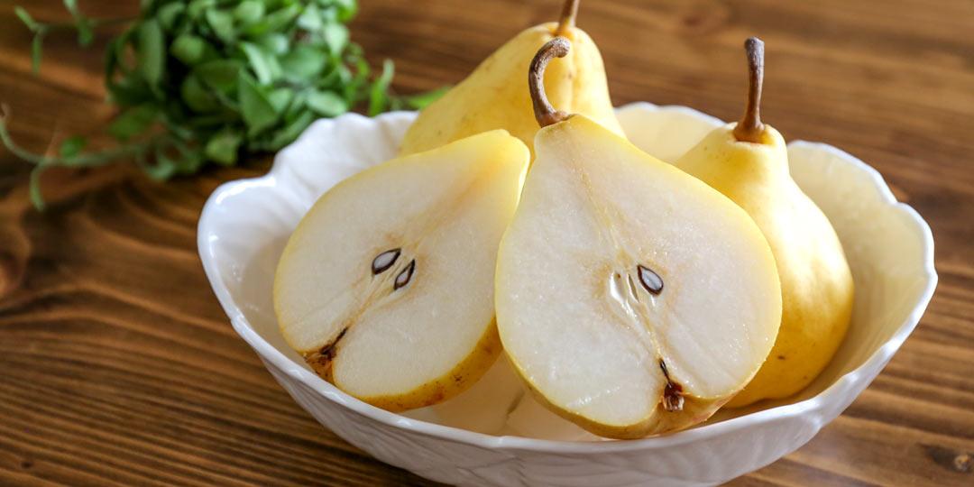 幻の洋梨! 今しか味わえない「ル レクチエ」のレシピ