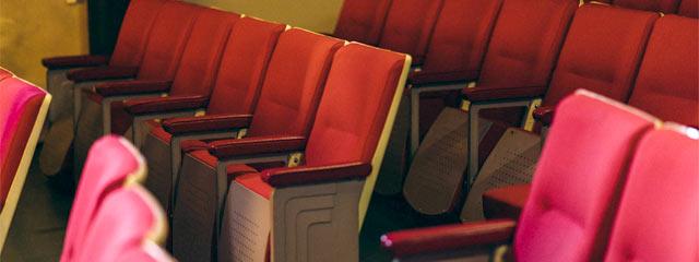 映画館のシート