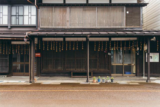 高田の町家の外観