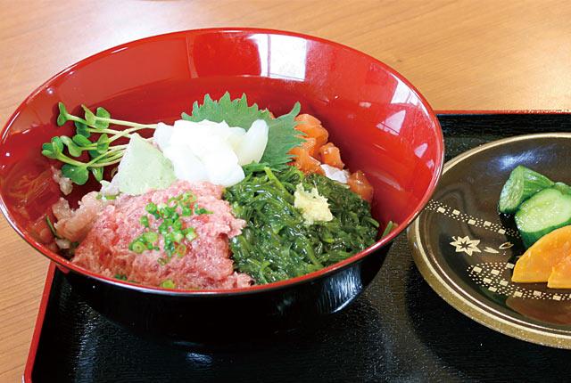 1日10食限定の「中落ち丼」(600円)