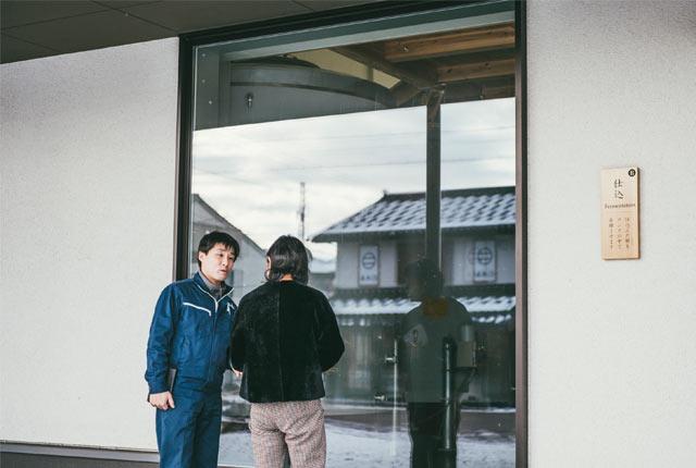 〈加賀の井酒造〉の新しい建物