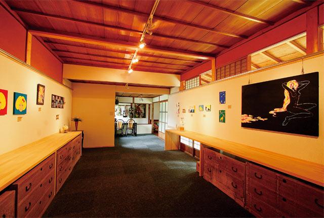 館内のギャラリースペース