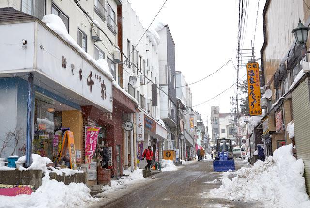 赤倉温泉街