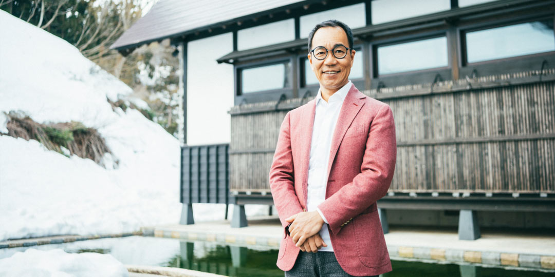 角田光代さんが〈里山十帖〉へ。岩佐十良さんに聞く新潟の魅力