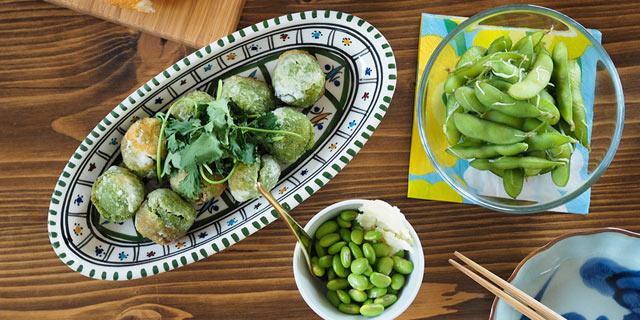 枝豆を使った料理