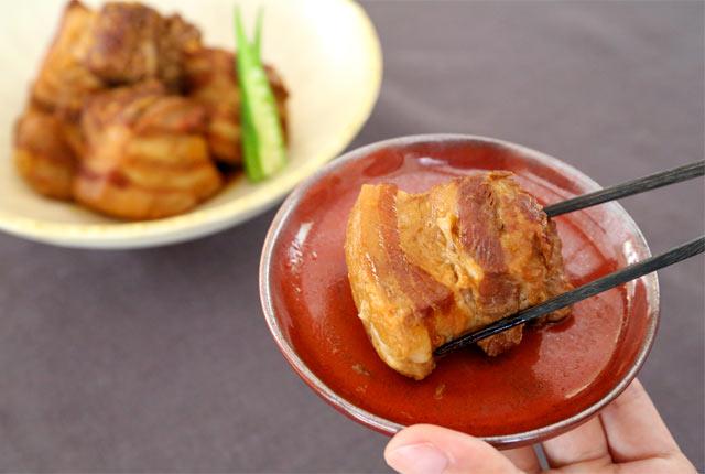豚バラブロック肉のヤンニョン煮