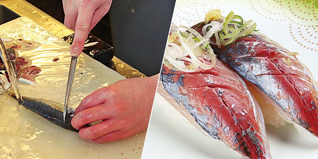 回転寿司〈一心寿司〉のもてなし精神に脱帽! 釣った魚もその場で握りに