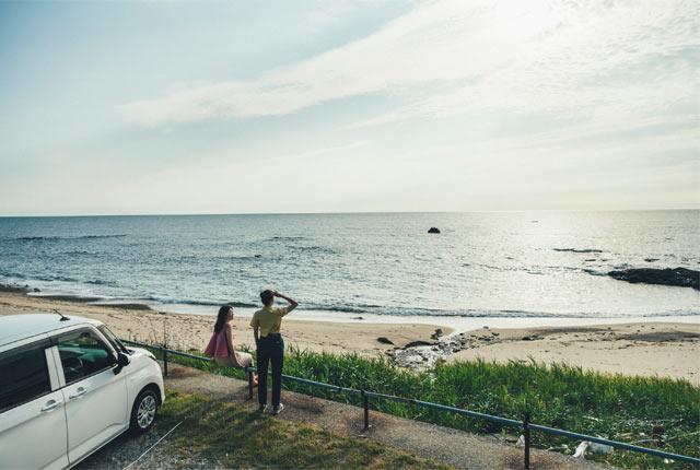 日本海パークラインをドライブ