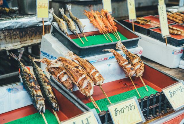 赤魚の串焼き
