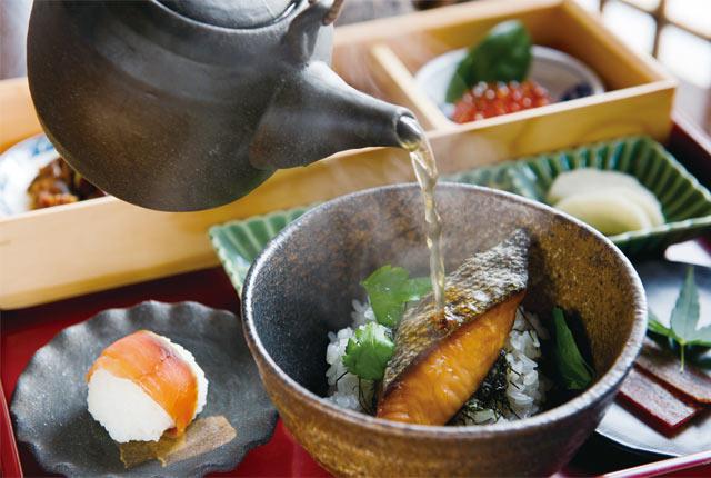鮭料理七品