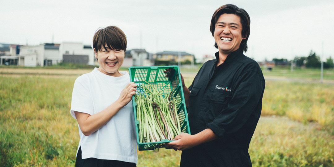料理家・坂田阿希子さんが巡る、新潟「食」の旅 「その土地にあった野菜をつくる〈飯塚農園〉を訪れて」