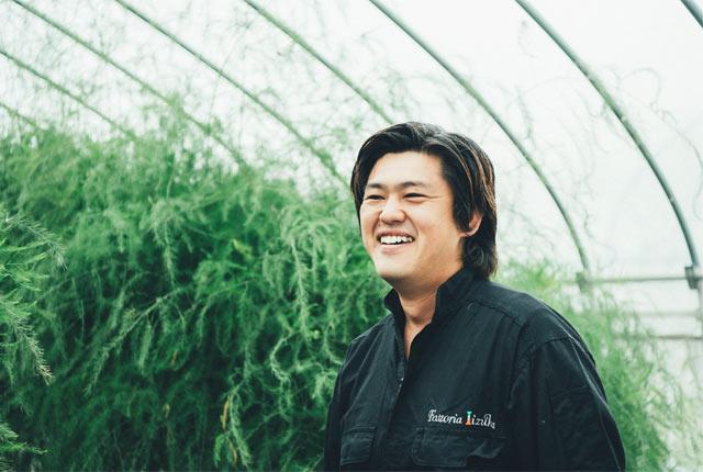 園主の飯塚英晃さん