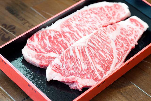 あがの姫牛のランプ肉