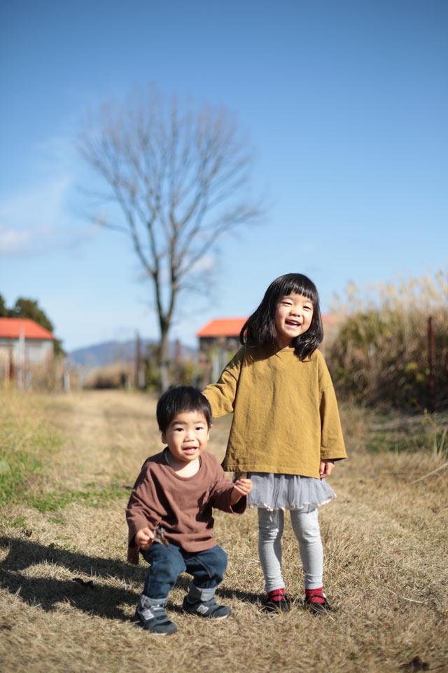 子どものスナップ写真