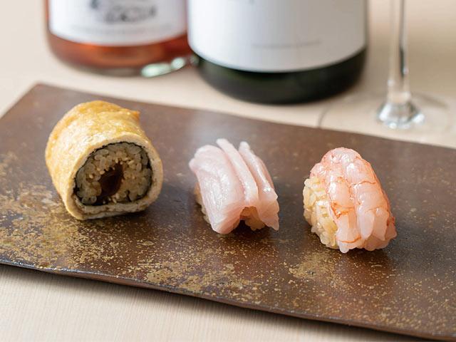 〈鮨はたけやま〉のお寿司