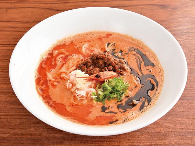 海老寿久坦々麺