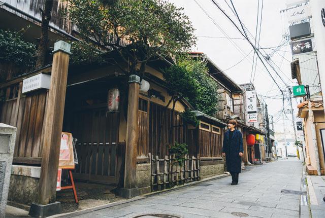 旧待合茶屋〈美や古〉の外観