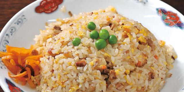 阿賀町の〈桃園楼〉で、餃子とチャーハンに舌鼓!その味に常連さん多数