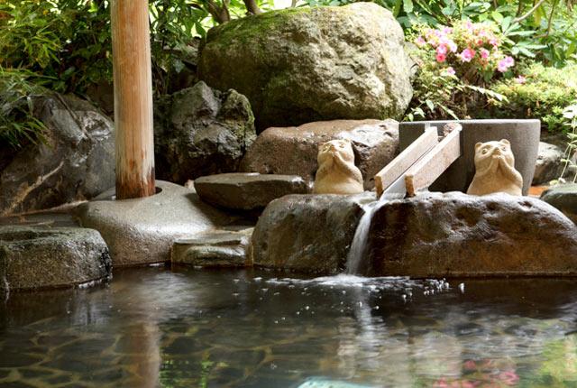 和泉屋の露天風呂