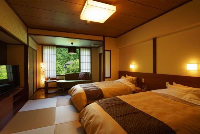 和泉屋の客室