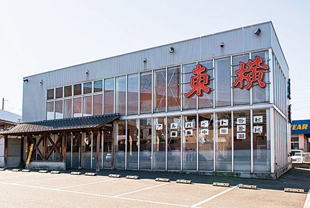 東横愛宕店の外観