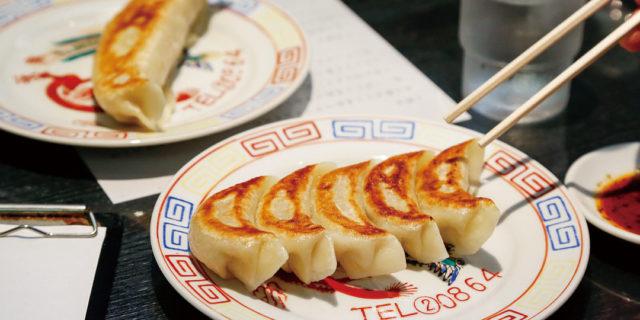 加茂市〈中国料理 味楽〉の名物、二枚看板の餃子を堪能!