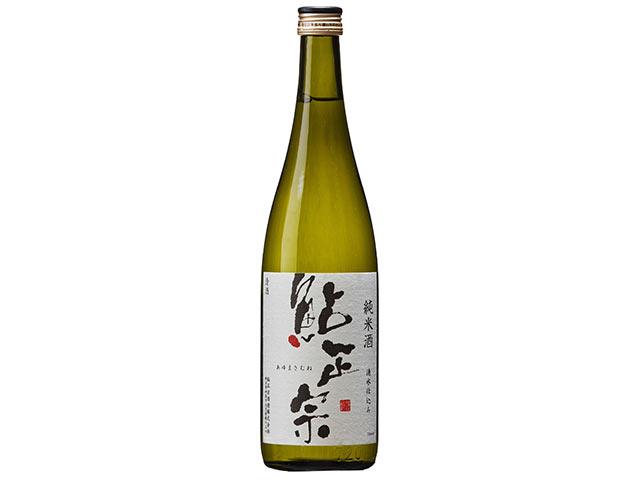 鮎正宗純米酒の一升瓶