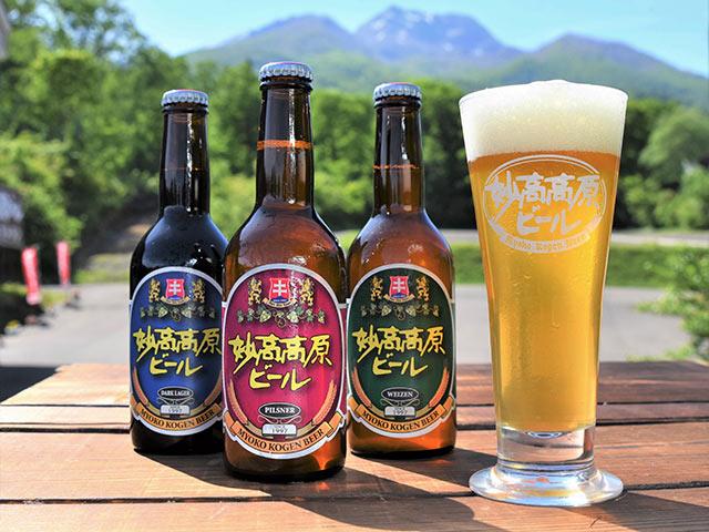 妙高高原ビールのボトル
