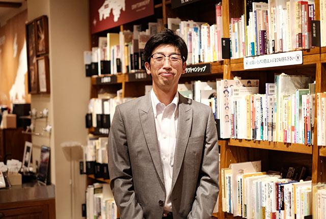 そだたべbooks店長の松尾雄一さん