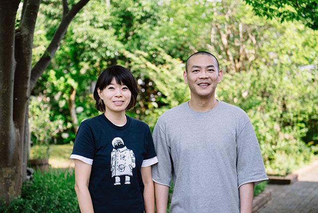 丸山慎二郎さんと淳代さん