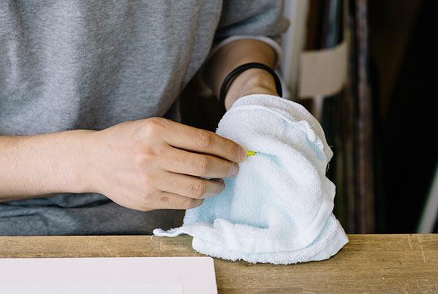 指紋や汚れをきれいに拭き取る