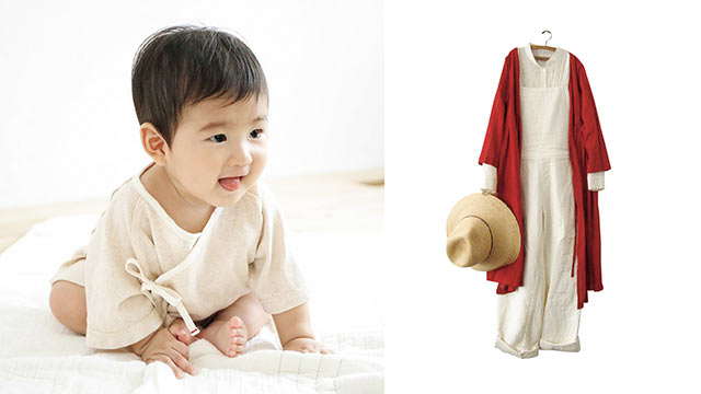 〈ao〉のベビー服