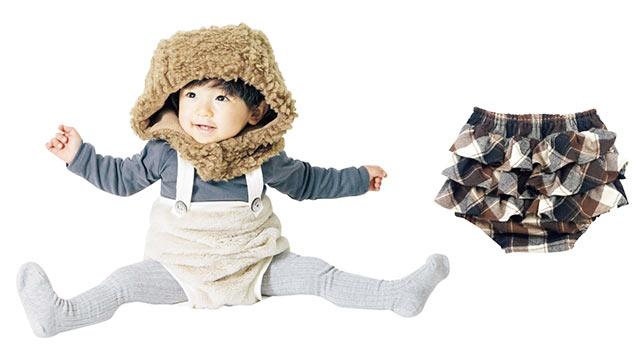 〈プポン〉の子供服